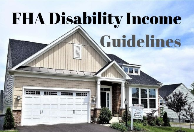 fha disability income guidelines