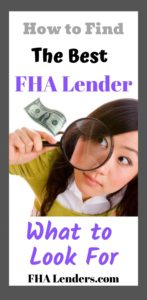 the best fha lenders