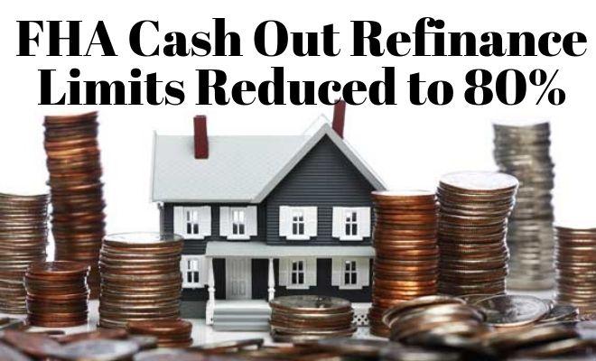 fha cash out refinance limits
