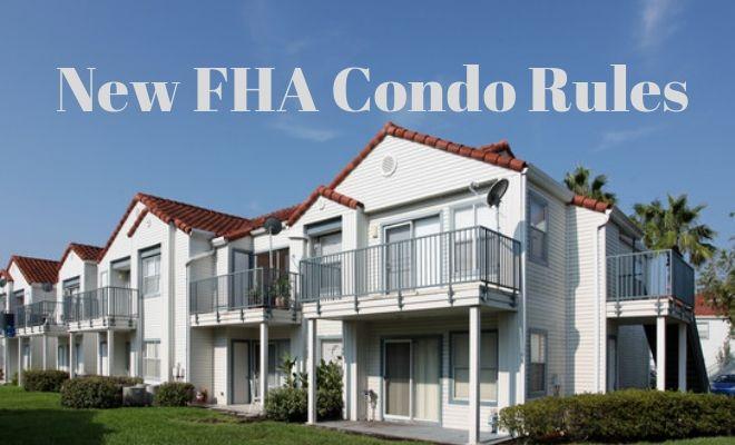 fha condo rules