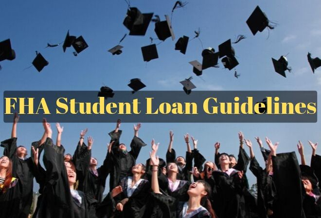 fha student loan guidelines
