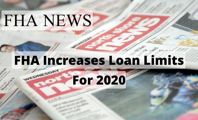 fha increases loan limits