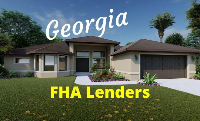 georgia fha lenders