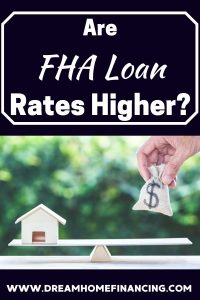 are fha rates higher
