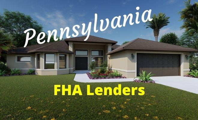 pennsylvania fha lenders
