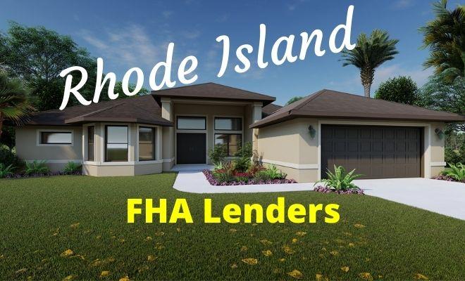rhode island FHA Lenders