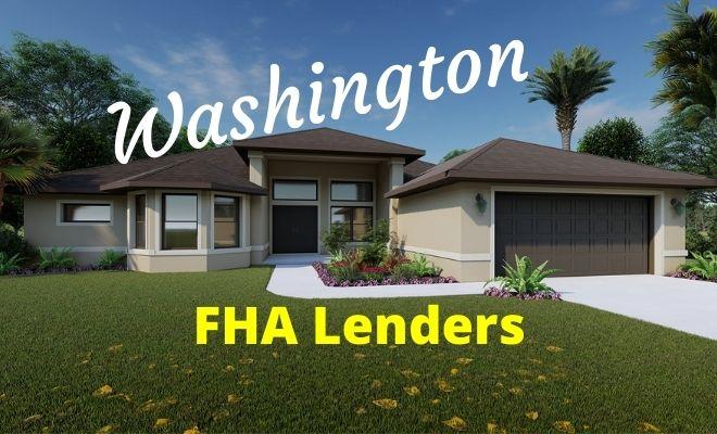 washington FHA Lenders
