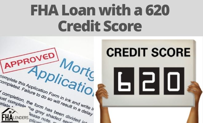 fha loan with a 620 credit score